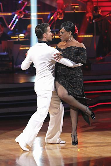 "Niecy Nash and Louis Van Amstel on ""Dancing with the Stars."""