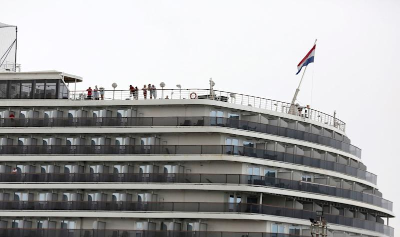 Westerdam was among the ships affected by the coronavirus outbreak