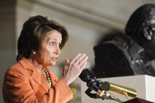'Letterman' Books Nancy Pelosi for Election Day Top Ten