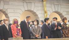 國慶酒會於台北賓館舉行 總統與駐台使節同慶
