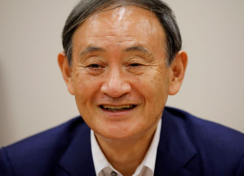 Suga seen top contender in Japan PM race as ruling party plans slimmed-down vote