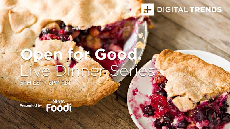 Open For Good: Summer berry pie in the Ninja Foodie Pressure Cooker