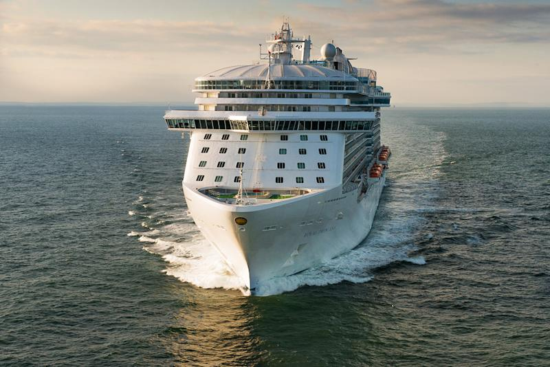 Royal Princess cruise ship getting royal christening