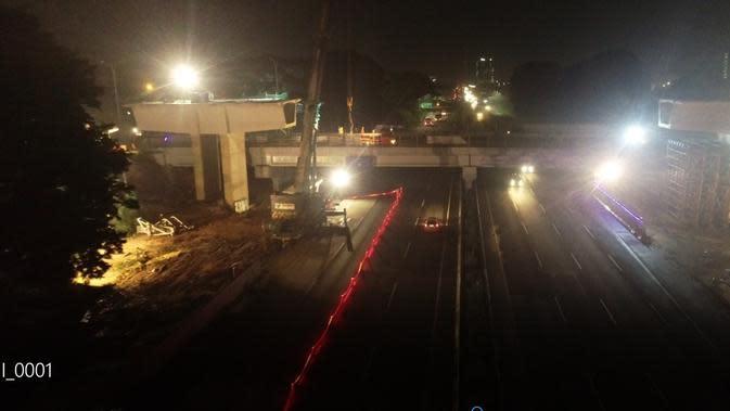 Proyek Simpang Susun Sentul Selatan. Dok PUPR