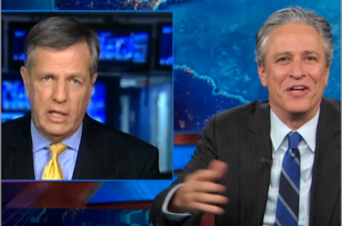 Jon Stewart: Chris Christie Victim of 'Vaginafication' of America (Video)