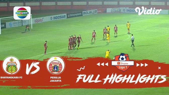 VIDEO: Highlights Liga 1 2019, Bhayangkara FC Vs Persija 3-0