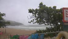 「閃電」發威! 屏東山區雨量上看450毫米