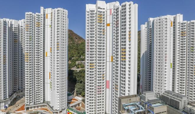 A view of Chun Yeung Estate in Fo Tan. Photo: Sam Tsang