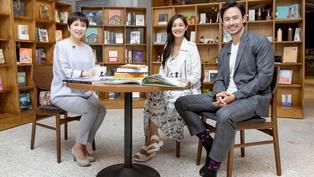《名人書房》Janet謝怡芬、George吳宇衛:看書就像按摩大腦,有付出才有收穫(完整版)