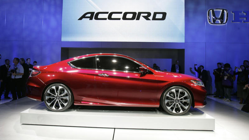 Detroit Auto Show 2012: The barely disguised new 2013 Honda Accord