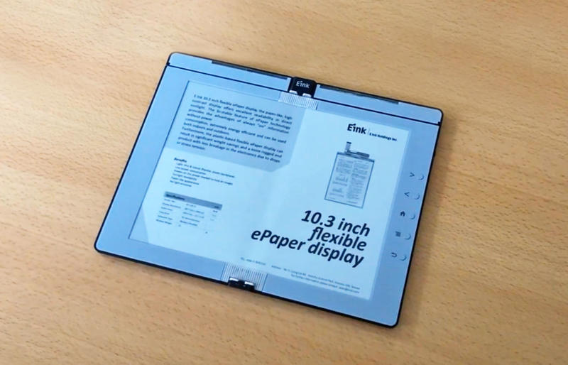 E Ink flexible display