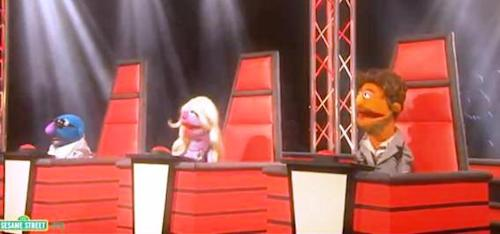 Sesame Street's 'The Voice' Parody: Brought To You By The Letter V