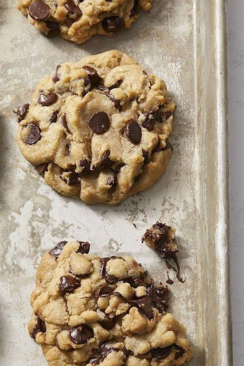 """<p>Why should vegans miss out on the fun? You can make a warm batch of cookies 100% free of animal products.</p><p><em><a href=""""https://www.goodhousekeeping.com/food-recipes/dessert/a30172161/vegan-chocolate-chip-cookies-recipe/"""" target=""""_blank"""">Get the recipe for Vegan Chocolate Chip Cookies »</a></em></p><p><strong>RELATED:</strong> <a href=""""https://www.goodhousekeeping.com/food-recipes/dessert/g5119/easy-vegan-dessert-recipes/"""" target=""""_blank"""">15 Easy Vegan Desserts That Taste Like the Real Deal</a></p>"""