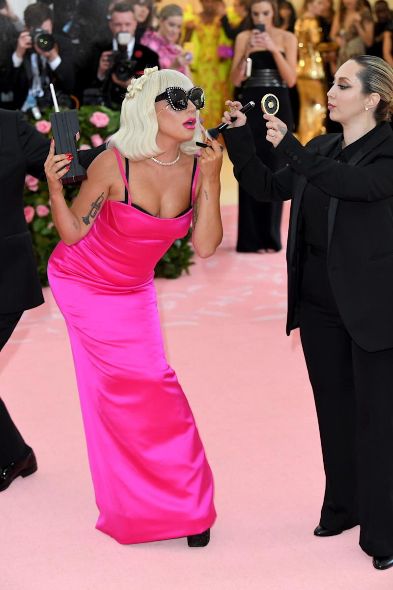 NEW YORK, NEW YORK - MAY 06: Lady Gaga attends The 2019 Met Gala Celebrating Camp: Notes On Fashion at The Metropolitan Museum of Art on May 06, 2019 in New York City. (Photo by Karwai Tang/WireImage )