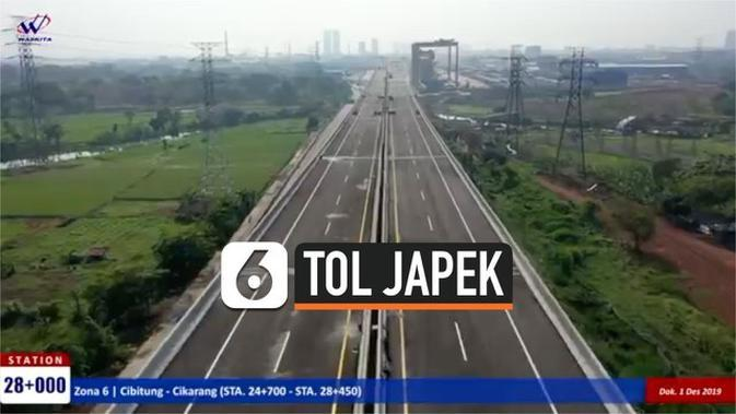 VIDEO: Segera Beroperasi, Ini Penampakan Jalan Tol Layang Jakarta-Cikampek