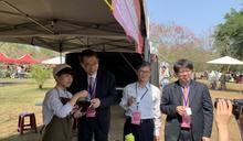 賞櫻人氣景點 暨南大學櫻花樹下品咖啡