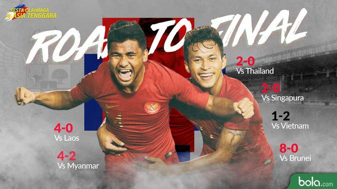 Sea Games 2019 - Sepak Bola - Indonesia Road to Final (Bola.com/Adreanus Titus)