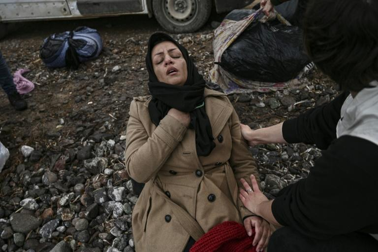 Greece is struggling to accommodate thousands of asylum-seekers stranded in the country