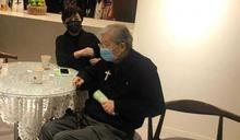 低調現身江文雄追思會 甄珍遺憾失去50年老朋友