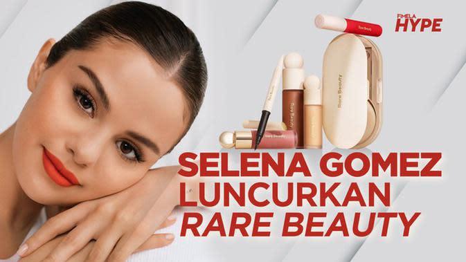 Selena Gomez Resmi Rilis Produk Makeup Rare Beauty
