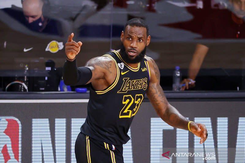 Lakers pakai jersey edisi Kobe Bryant di gim kelima final NBA
