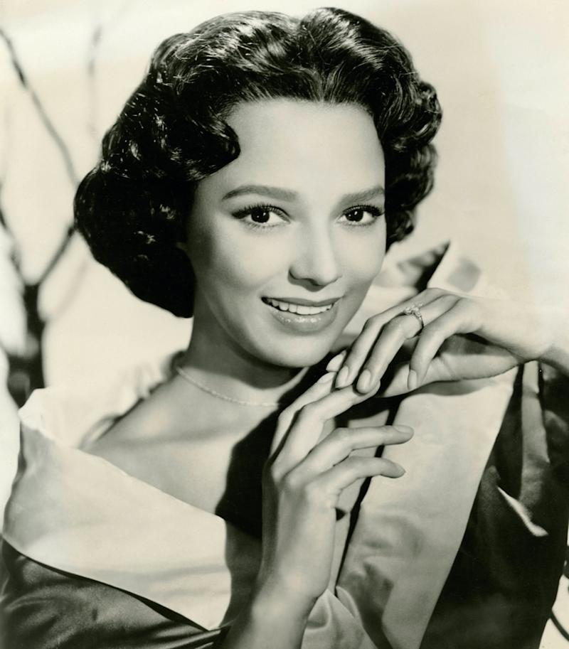 black and white photo of dorothy dandridge