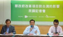 台灣世代智庫民調》「吳敦義帶領國民黨走本土化路線」,近6成不相信