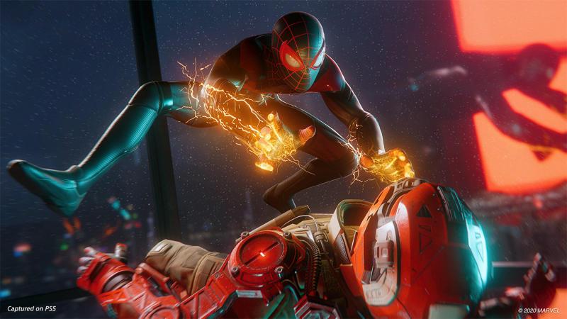 Marvel's Spider-Man: Miles Morales. Image via Playstation.