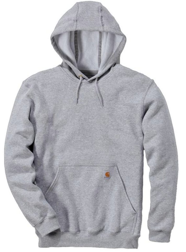 """<p><strong>Carhartt</strong></p><p>amazon.com</p><p><strong>$39.99</strong></p><p><a href=""""https://www.amazon.com/dp/B002VWK6M2?tag=syn-yahoo-20&ascsubtag=%5Bartid%7C10054.g.3357%5Bsrc%7Cyahoo-us"""" target=""""_blank"""">Buy</a></p><p>Pro tip: Carhartt makes hoodies more durable than the vast majority of their designer counterparts, and at a fraction of the price. If you're looking for a solid option that'll stand up to pretty much everything you throw at it, start here. </p>"""