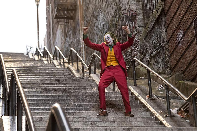 Joaquin Phoenix as Arthur Fleck in 'Joker'. (Credit: Warner Bros)