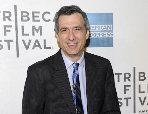 "FILE - This April 25, 2012 file photo shows journalist Howard Kurtz at the world premiere of ""Knife Fight"" during the 2012 Tribeca Film Festival in New York. Kurtz is apologizing for several errors in a column he wrote about gay basketball player Jason Collins this past week. Kurtz, host of CNN's ""Reliable Sources,"" brought two other media critics onto his show Sunday, May 5, 2013, to question him about the story written on The Daily Beast suggesting Collins had hidden a previous engagement to a woman when he came out as gay in a Sports Illustrated story. Kurtz said he was not only wrong in the facts, he shouldn't have written the story in the first place and was too slow to correct himself. (AP Photo/Evan Agostini, File)"