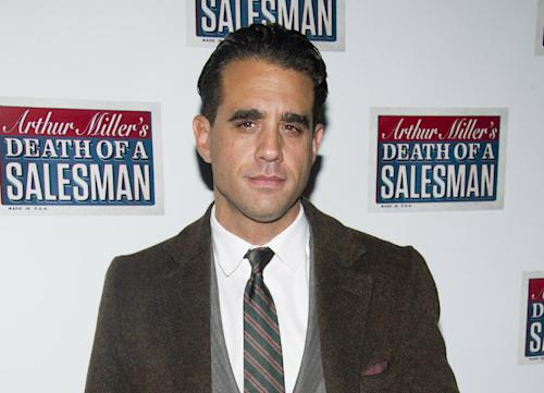 """FILE - In this March 15, 2012 file photo, actor Bobby Cannavale attends the opening night performance of the Broadway revival of Arthur Miller's """"Death of A Salesman"""" in New York. Before the Tony Award nominee became known for his stage work and roles on """"Nurse Jackie"""" and """"Boardwalk Empire,"""" Cannavale was a reader for the Roundabout Theatre Company in the late 1990s _ a low-level guy who runs lines opposite actors auditioning for roles. (AP Photo/Charles Sykes, file)"""