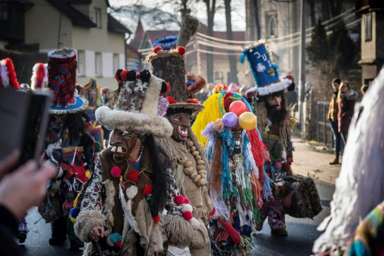 Similar folk customs marking the winter solstice can be traced back to pagan times