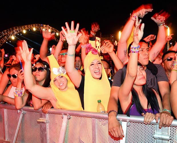 The 6 Most Awesome Outfits Seen Friday at Electric Daisy Carnival in Vegas