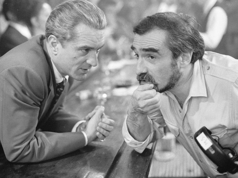 Martin Scorsese directs Robert De Niro on the 'Goodfellas' setWarner Bros/Kobal/Rex