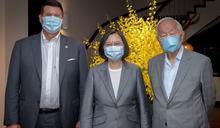 快新聞/張忠謀同框柯拉克 蔡英文:讓世界了解台灣