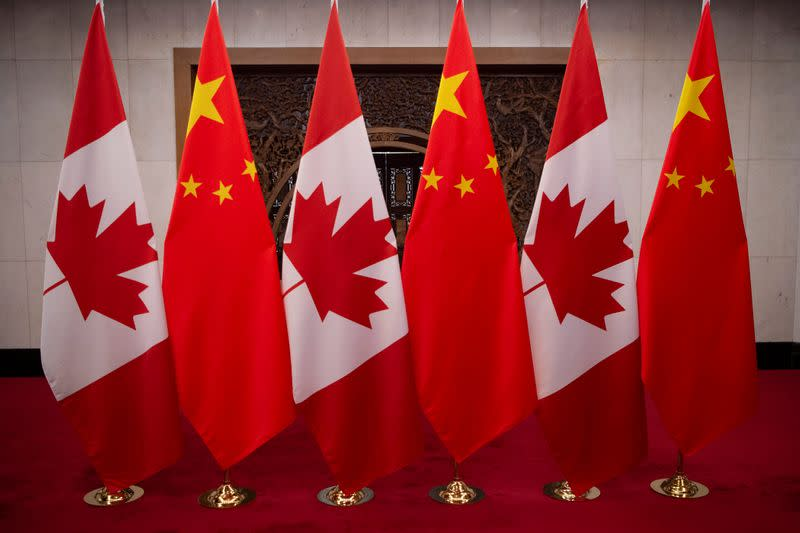 Canada not looking to impose China sanctions for now, seeks to avoid escalation - source