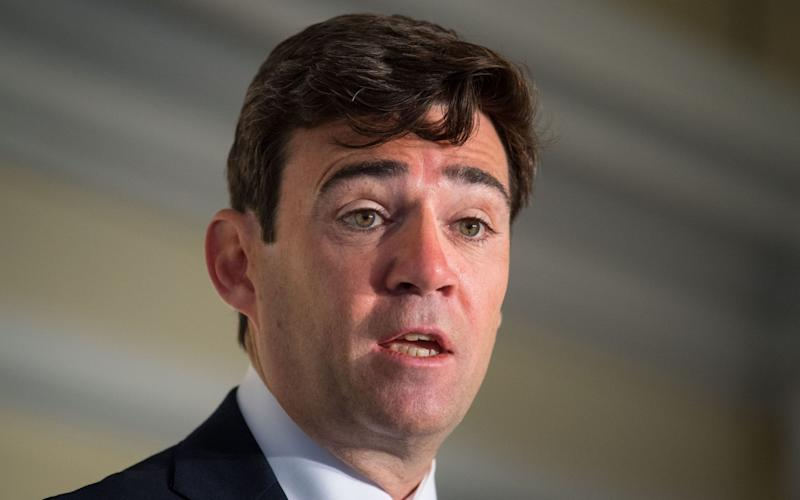 Mayor of Greater Manchester, Andy Burnham - PA