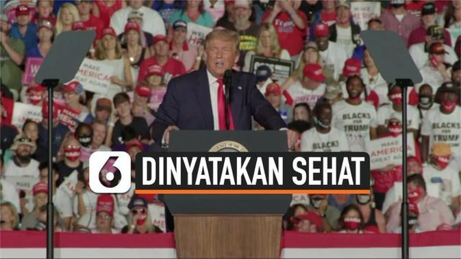 VIDEO: Sembuh dari Covid-19, Trump Bakal Cium Pendukung di Kampanyenya