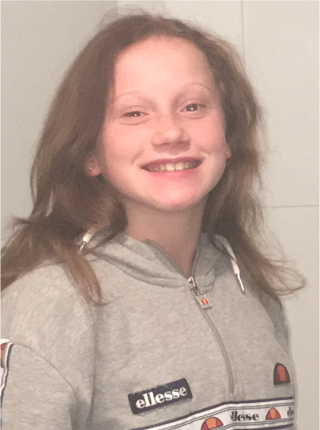 Melbourne girl Sienna Johnson (pictured), 11, went missing from her Manor Lakes home.