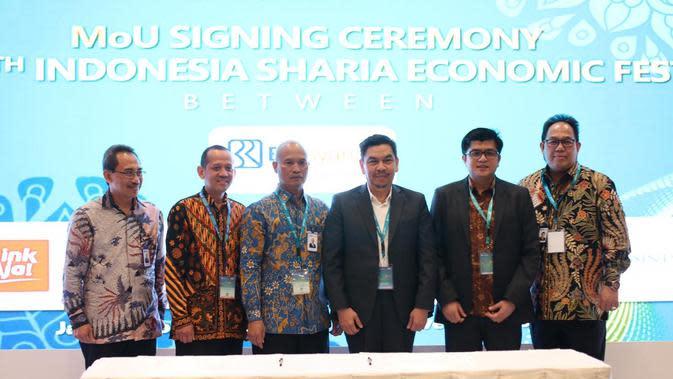 Perluas Akses Layanan Keuangan Syariah di ISEF 2019, BRI Gandeng Stakeholder