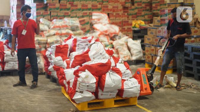 9,3 Ribu Paket Bansos Dikirim ke Kepulauan Seribu