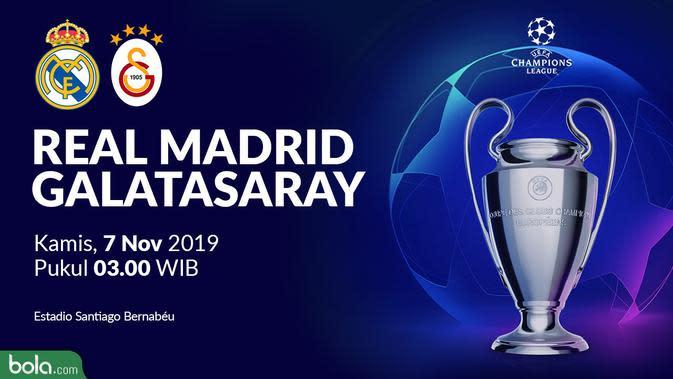 Liga Champions - Real Madrid Vs Galatasaray (Bola.com/Adreanus Titus)