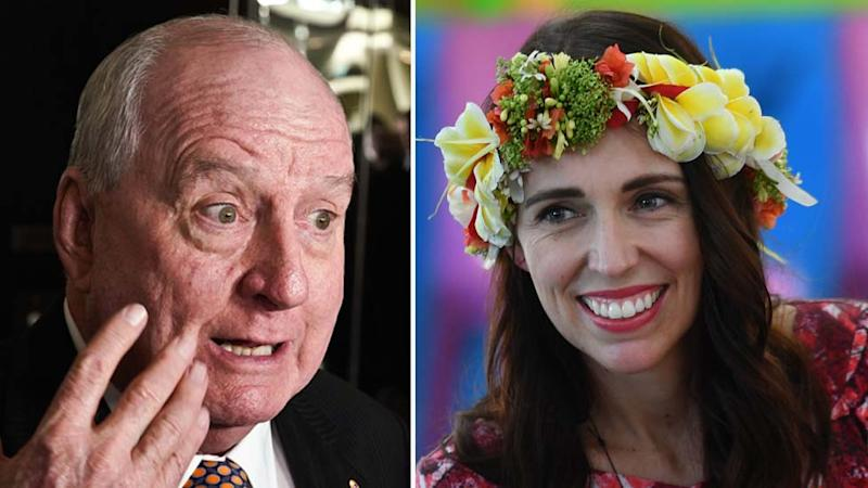 Alan Jones, Jacinda Ardern