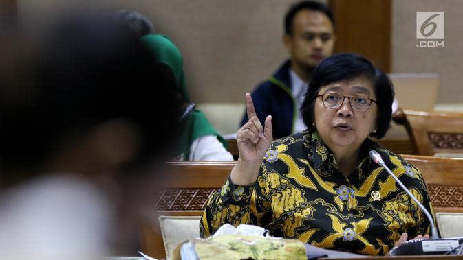 Menteri LHK Akan Setop Tambang Ilegal di Sekitar Ibu Kota Baru