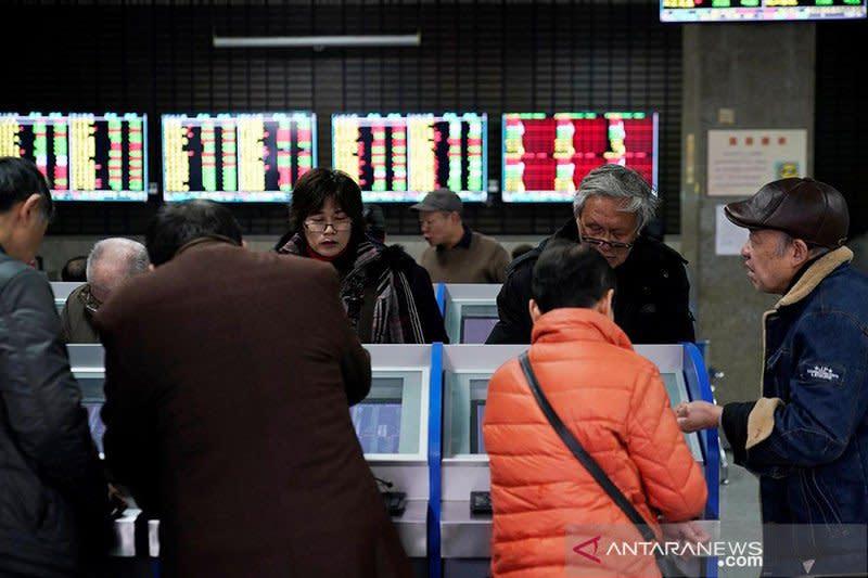 """Saham China ditutup """"rebound"""" dari penurunan tiga hari beruntun"""