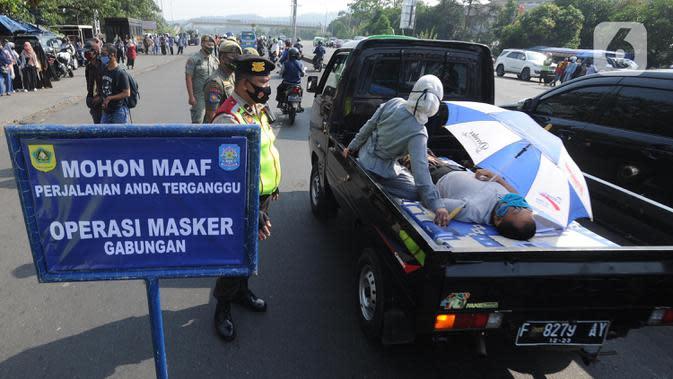 3 Warga Pulau Pramuka Terjaring Operasi Tertib Masker