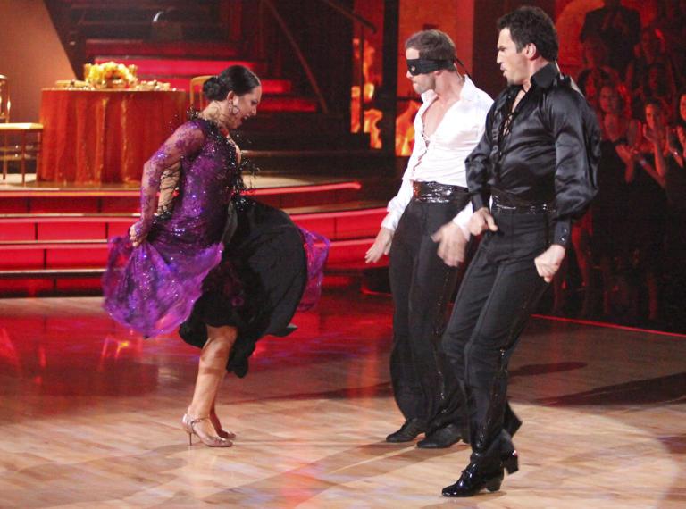 Cheryl Burke, William Levy and Tony Dovolani (5/7/12)