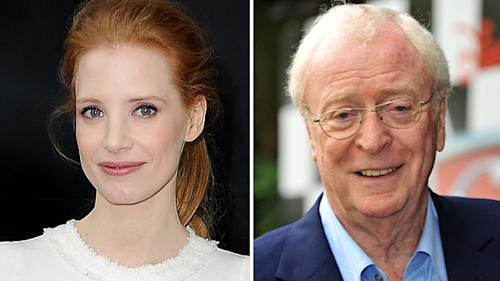 Jessica Chastain and Michael Caine Taking a Wild Ride in 'Interstellar'