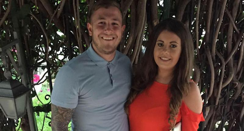 Pregnant UK mum Chloe Sullivan and her fiancé Michael Parrott were on holiday in the Dominican Republic when their son Arlo was born. He died after birth and the couple claim they were slugged with a $30,000 hospital bill. Source: GoFundMe/ Baby Arlo